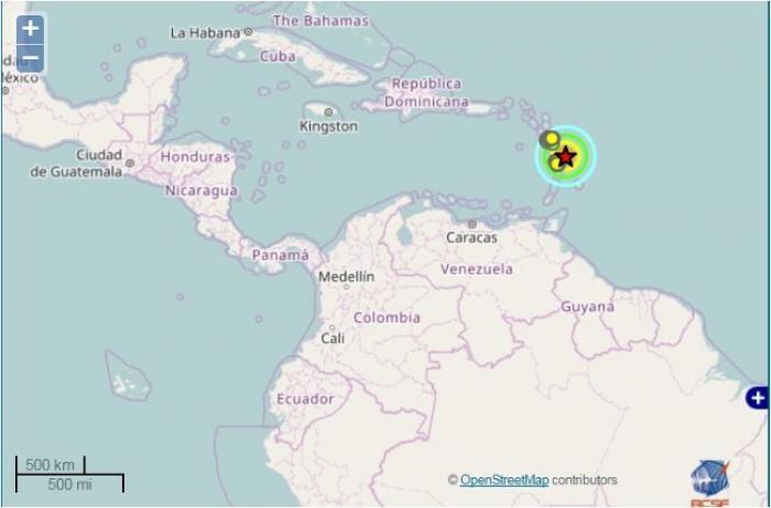 La terre a fortement tremblé en Martinique ce vendredi 3 février 2017 peu avant 16 heures