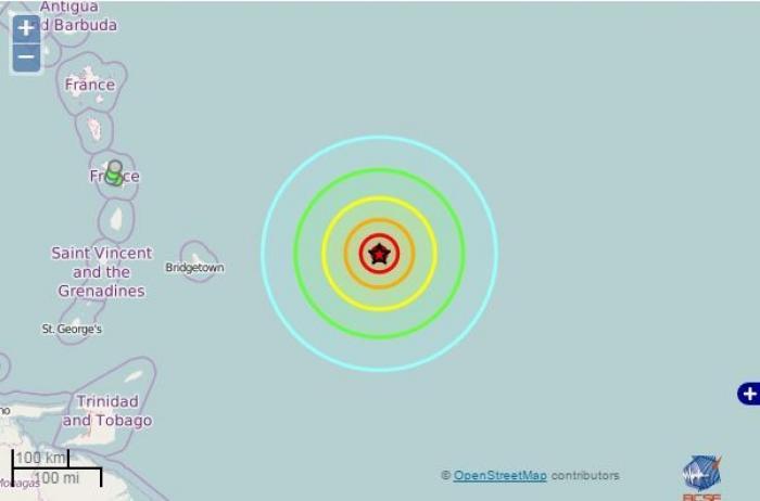 La terre a tremblé en Martinique !