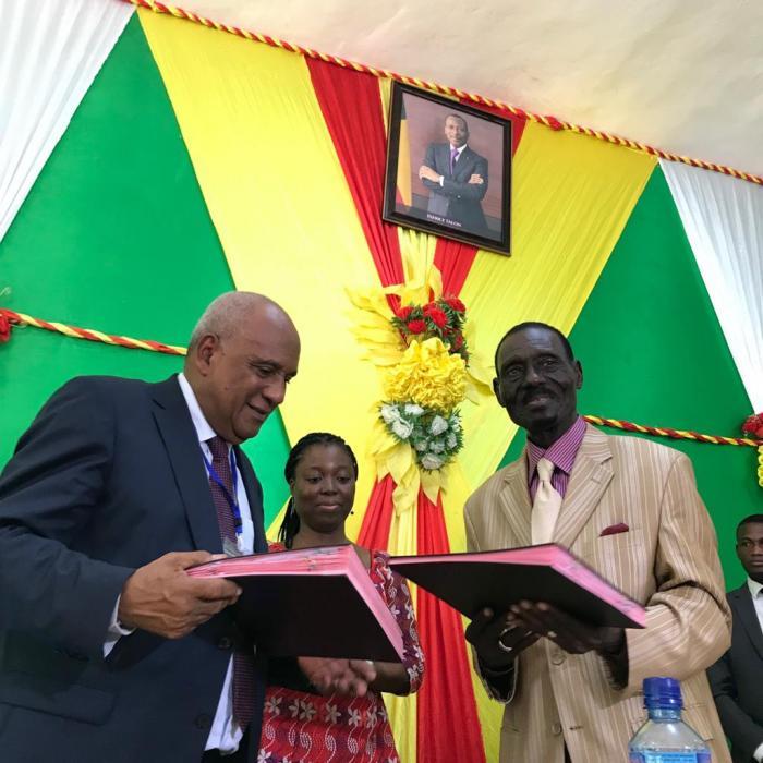 La ville de Ouidah au Bénin et les Anses d'Arlet sont désormais jumelées