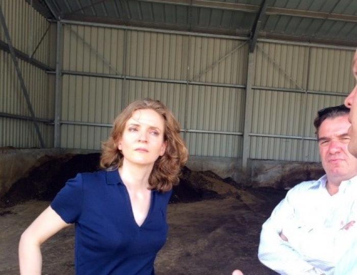 La visite de Nathalie Kosciuscko-Morizet se poursuit