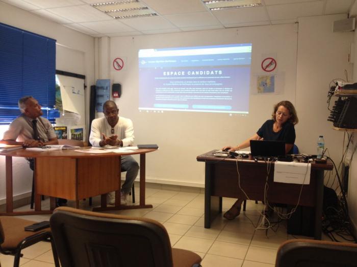 Lancement de la bourse de l'emploi maritime