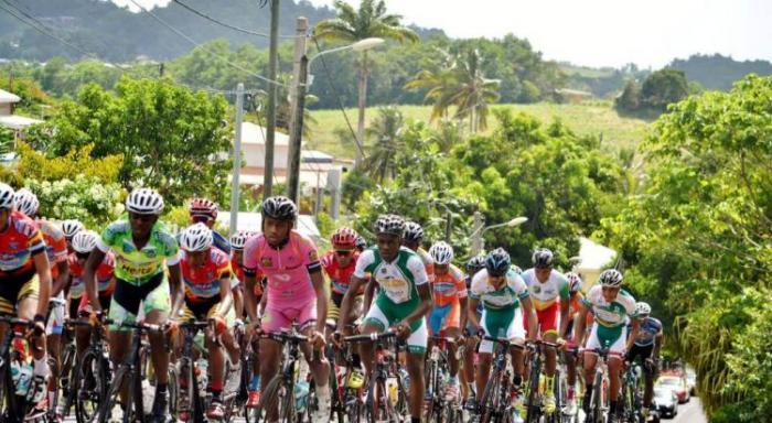 Lancement du tour cycliste international cadets de Martinique 2019