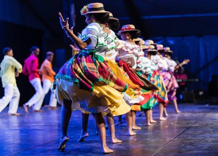 Le ballet folklorique Tchè Kreyol de retour après sa tournée en Belgique
