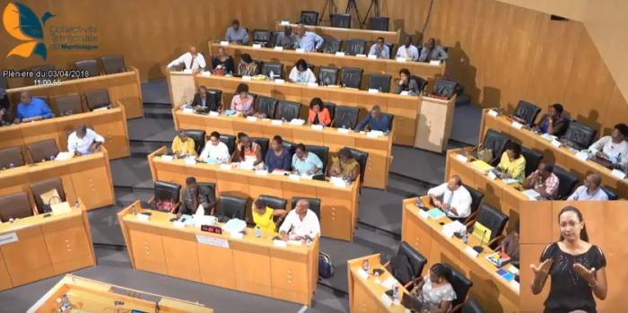 Le budget 2018 de la CTM examiné par l'Assemblée de Martinique