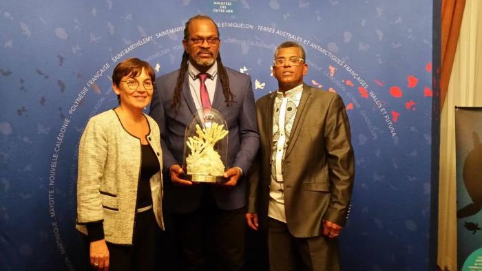 Le Carbet récompensé pour sa gestion des récifs coraliens