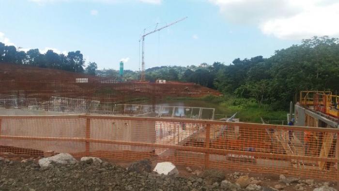 Le chantier de jambette à Saint-Joseph arrêté