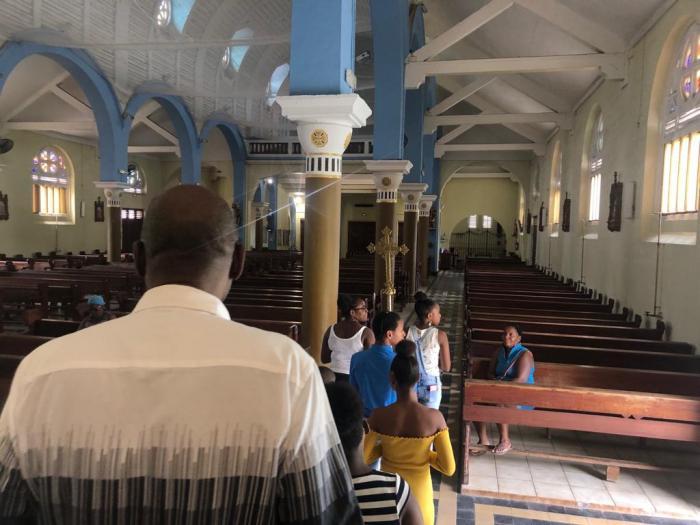 Le chemin de croix des Terres Sainville se fera en créole