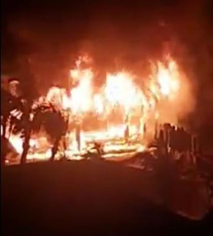 """Le """"Christopher Hotel"""" de Saint-Barth ravagé par un incendie"""