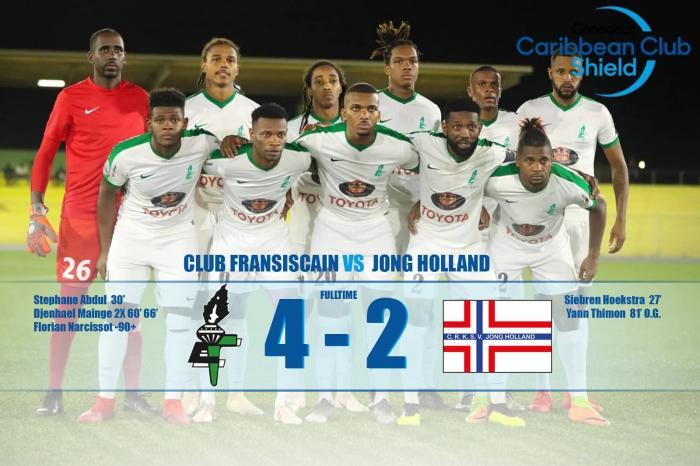 Le Club Franciscain est en finale de la Coupe des Clubs Champions de la Caraïbe - amateurs