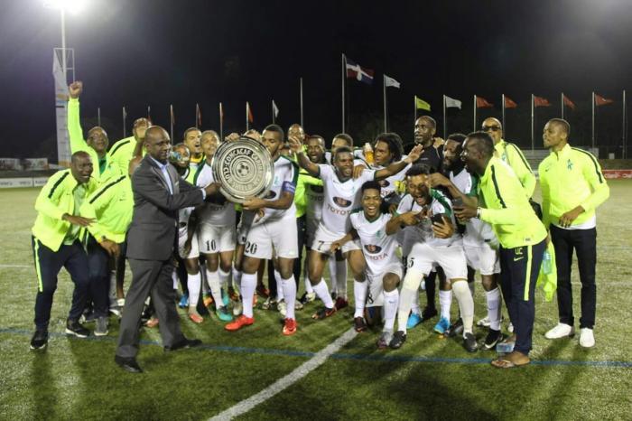 Le Club Franciscain remporte la Coupe des Clubs Champions de la Caraïbes (amateurs)