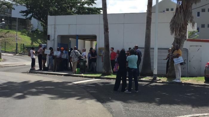 Le comité vigilance Anti-corruption s'est mobilisé devant l'Université des Antilles