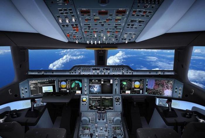 """Le copilote aux commandes de l'avion : """" Une procédure tout à fait normale"""""""