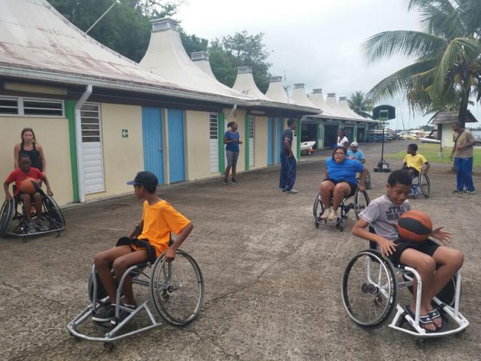 """Le """"défi Morne Cabri"""" destiné aux personnes à mobilité réduite"""