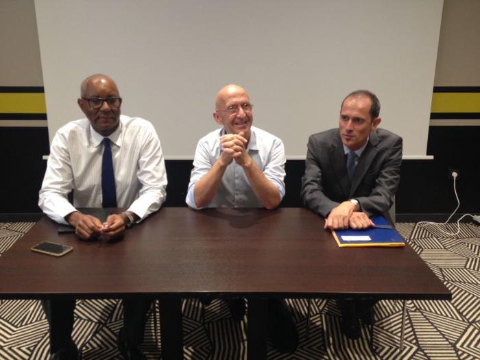 Le délégué interministériel à la reconstruction de Saint-Martin et Saint-Barthélemy est en Martinique
