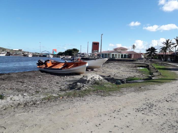 Le désensablement du port de Vauclin débute
