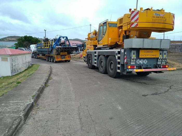 Le désensablement du port du Vauclin commencera d'ici 24H