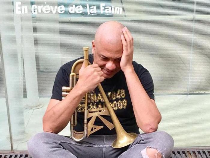 Le jazzman Franck Nicolas en grève de la faim