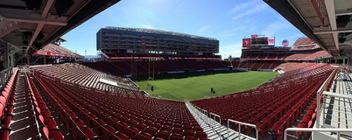 Le Levi's Stadium de San Francisco, stade de la finale de la Gold Cup 2017.