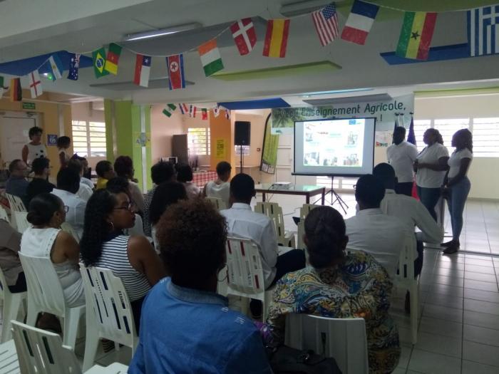 Le lycée agricole du Robert poursuit sa dynamique de coopération internationale