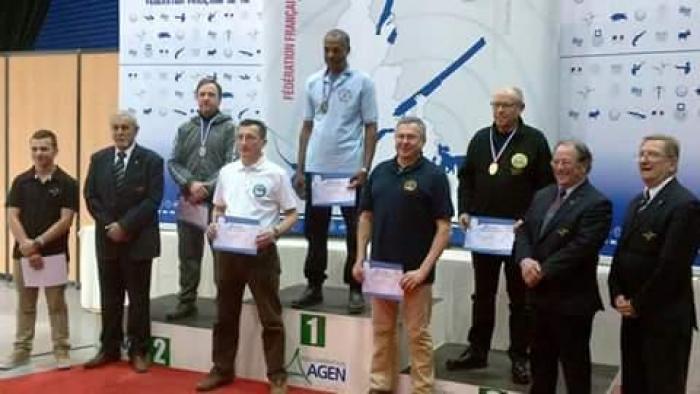 Le martiniquais Hervé Christophe champion de France de tir sportif !