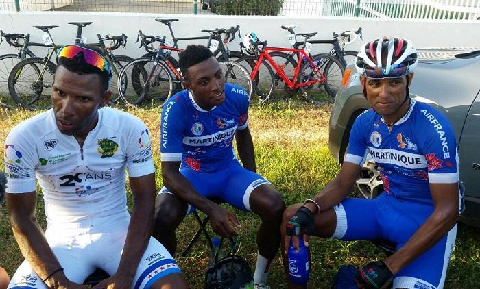 Le martiniquais Mickael Laurent enfin maillot jaune du Tour de Guyane!