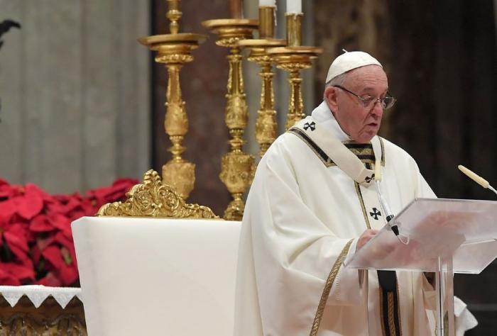 Le message de fraternité du pape François pour Noël