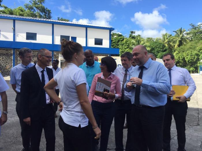 Le ministre de l'agriculture en visite au Gros-Morne