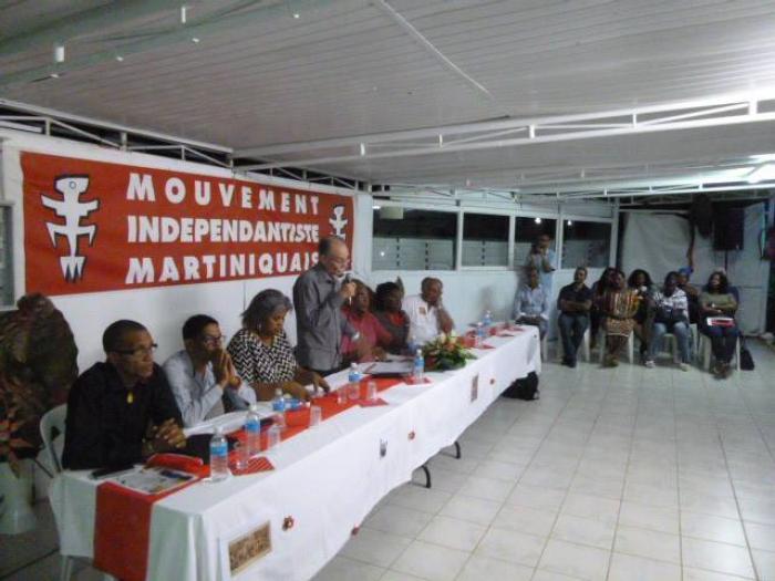 Le Mouvement Indépendantiste Martiniquais (MIM) est placé sous administration provisoire
