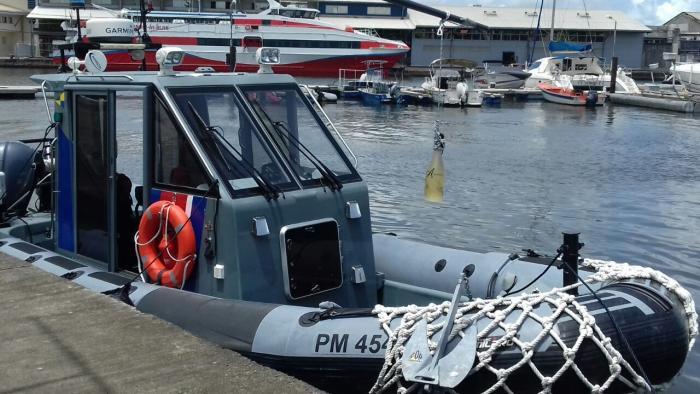 Le nouveau bateau des affaires maritimes baptisé