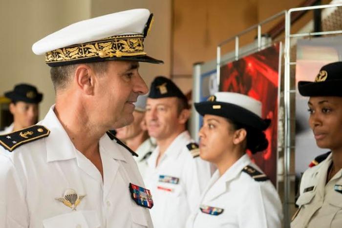 Le nouveau commandant des forces armées aux Antilles a pris ses fonctions