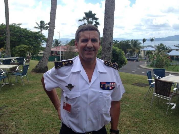 Le nouveau patron des Armées aux Antilles à la rencontre de la presse de Martinique