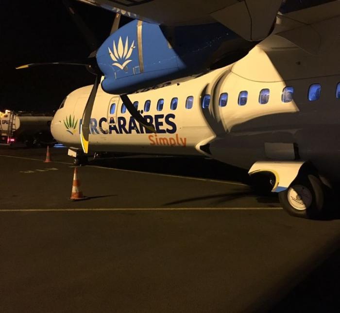 Le nouvel ATR 72-600 s'est posé à Pôle Caraïbes