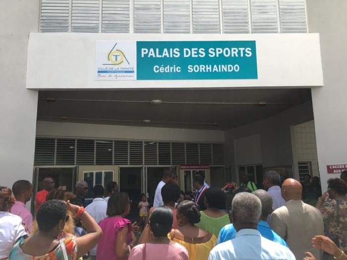 Le Palais des sports de Trinité rebaptisé