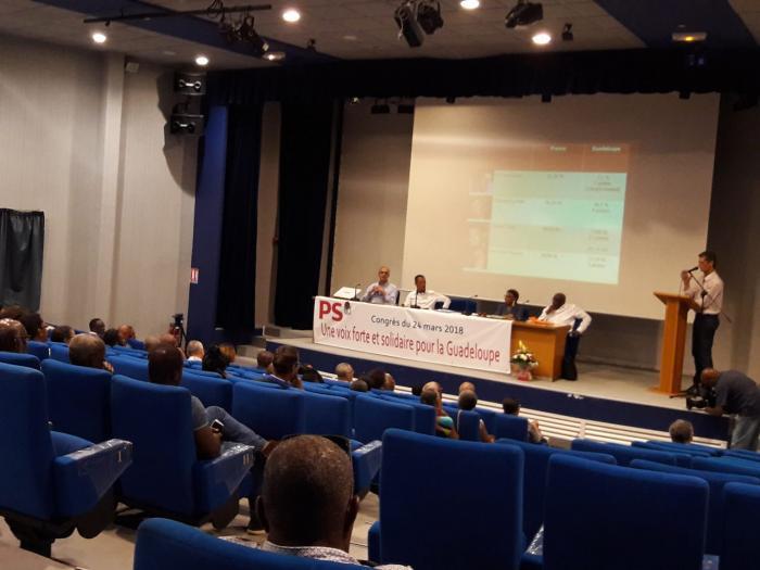 Le Parti Socialiste Guadeloupéen s'interroge en congrès