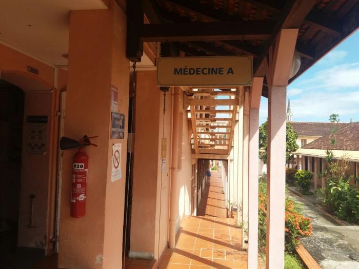 Le personnel de l'hôpital des Trois-Ilets reste mobilisé