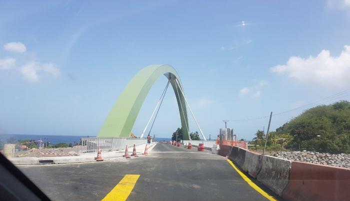 Le pont du Prêcheur enfin opérationnel