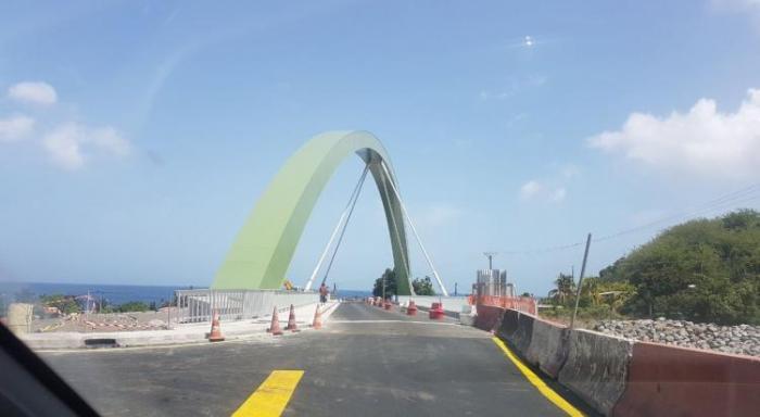 Le pont du Prêcheur inauguré, ce jeudi soir