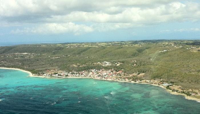 Le port de pêche de Capesterre-de-Marie-Galante très impacté