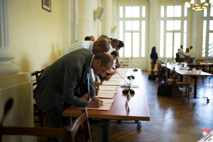 Le premier contrat de progrès du Plan Eau Martinique signé
