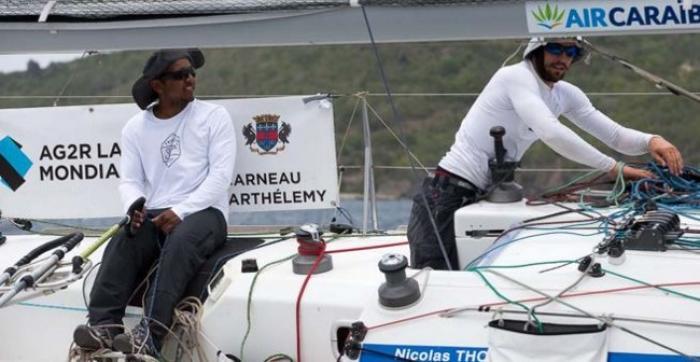 Le premier équipage guadeloupéen termine neuvième de la Transat AG2R