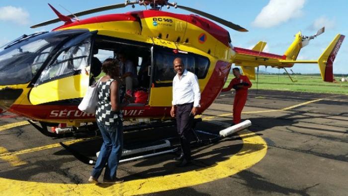 Le préfet et le président de Région en mission de reconnaissance à la Dominique