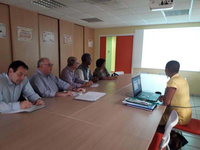 Le Président de l'association des départements de France Dominique Bussereau est en Martinique