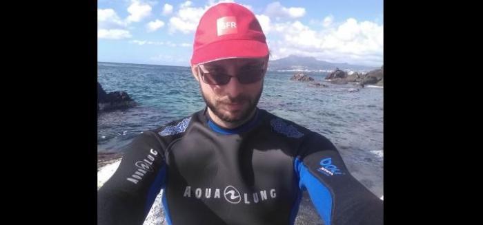 Le président des Enfants de Gaïa nage et marche pour l'environnement
