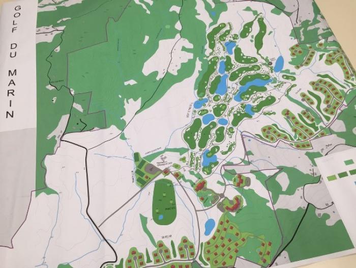 Le projet du golf du Marin refait surface
