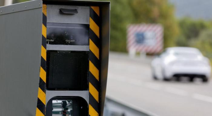 Le radar automatique de la Riviéra incendié