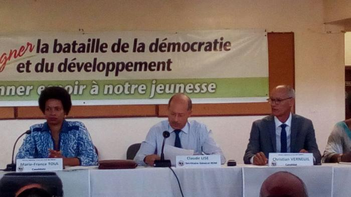 Le RDM présente officiellement ses candidats aux législatives