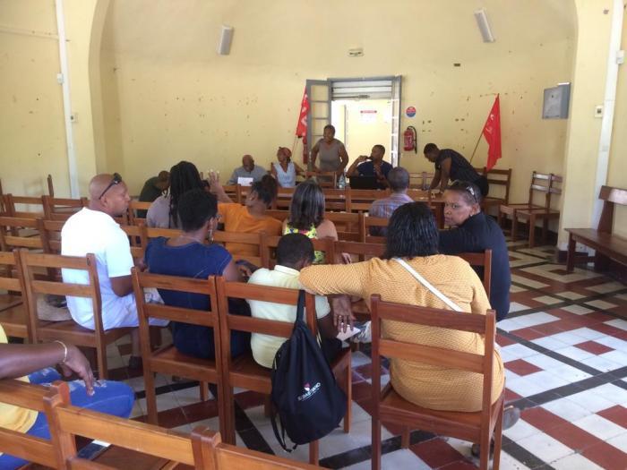 Le syndicat des ambulanciers salariés de Martinique (SASM972) est né