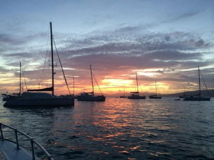 Le Tour des Yoles c'est aussi... Les sorties en catamaran !