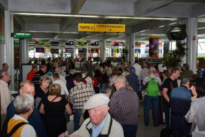 Le trafic de passagers à l'aéroport Aimé Césaire  toujours en hausse en mai 2017