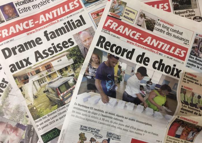 Le tribunal accepte la procédure de sauvegarde de la holding qui détient France-Antilles